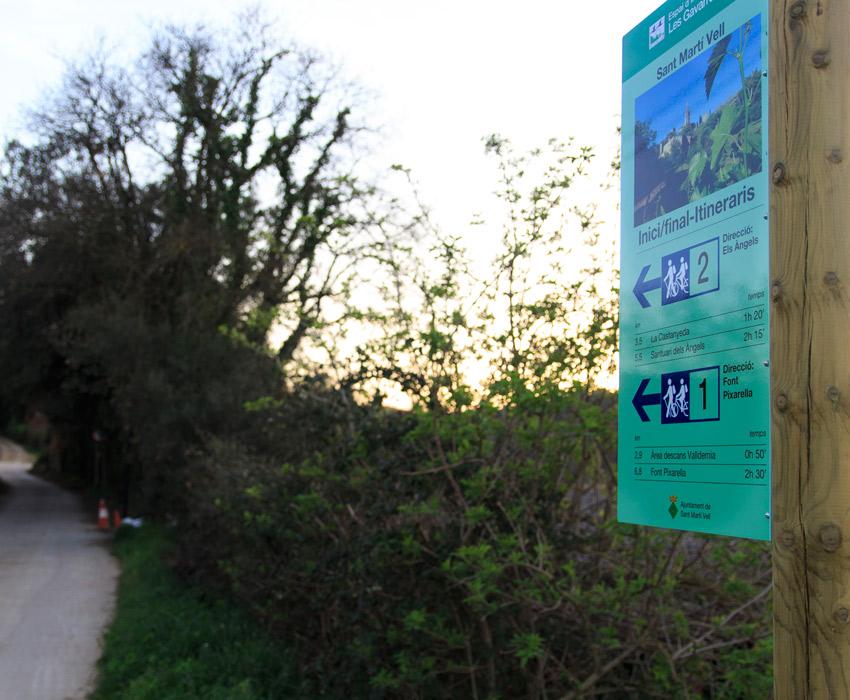 Disseny i creació de rutes senderisme i btt