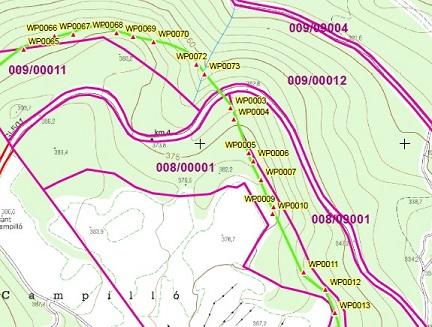 Medició de finques amb GPS